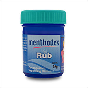 Menthodex Decongestant Vaporizing Ointment
