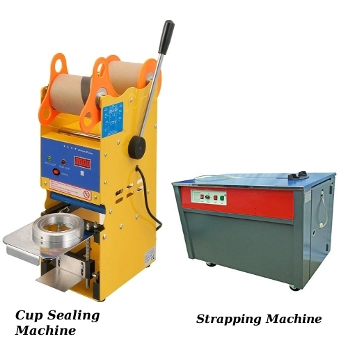 Cup sealing Machine & Sealing Machine