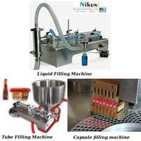 Liquid, Tube & Capsule Filling Machine