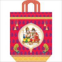 Colored Printed Marriage Bags