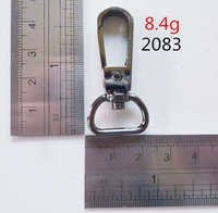 Moulded snap hook with D ring