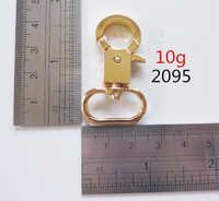 gold oval dog clips handbags hardware