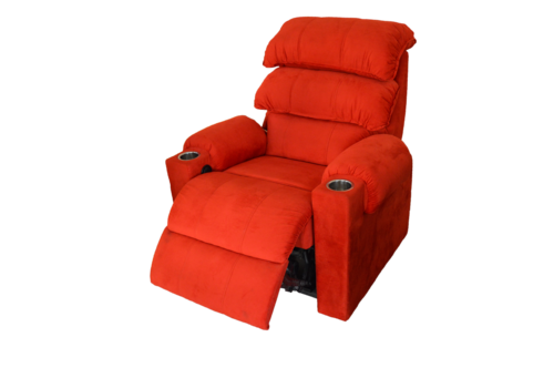 Bright Red Recliner Chair