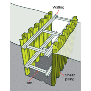 Sheet Piling Shoring Services