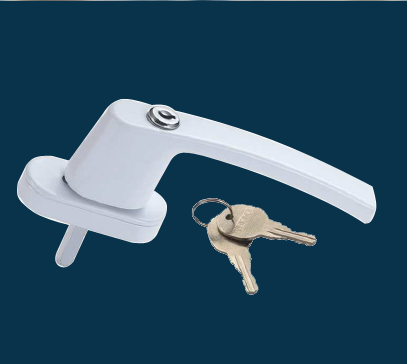 UPVC SLIDING WINDOW HANDLE WITH WITH KEY
