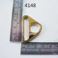 Triangle Gold Fittings Luxury Bags Hardware