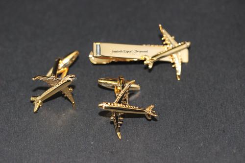 Aircraft Cufflink