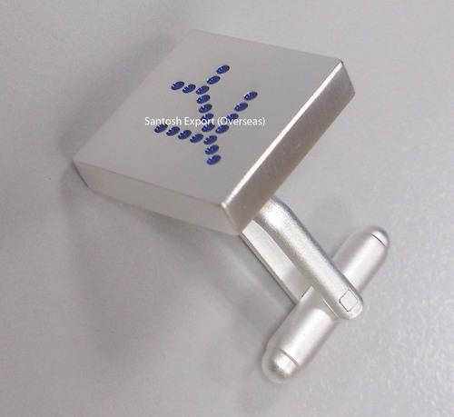 Silver Cufflink