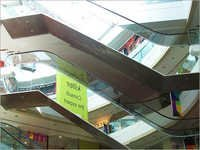 Escalator Stainless Steel Cladding Works