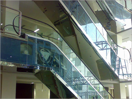 Escalator Cladding Works