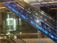 Escalator Glass Cladding Works