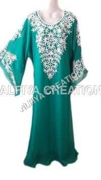 Moroccan Farasha Maxi Dress