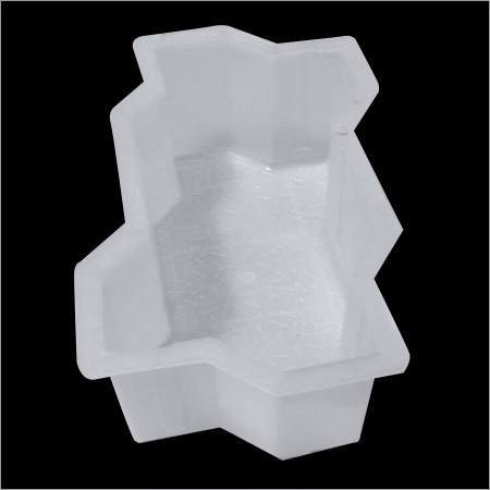 Interlocking Zig Zag Plastic Mould