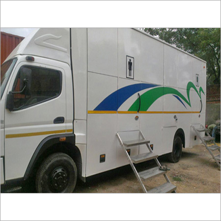 AC Washroom On Wheel Rental