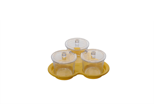 Polycarbonate Jampot Sets