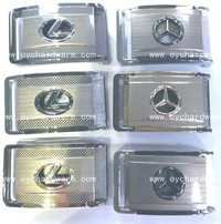 Belt Buckle,Lexus,Benz,Good Quality,Gold,Silver,Gu