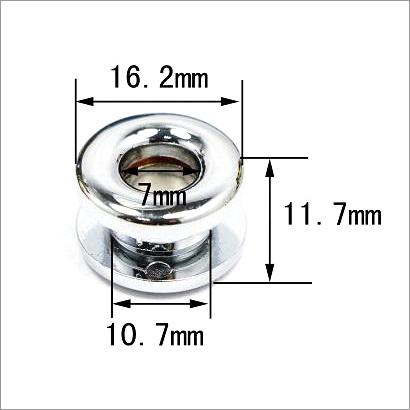 Silver Grommet Handbag Hardware Eyelet