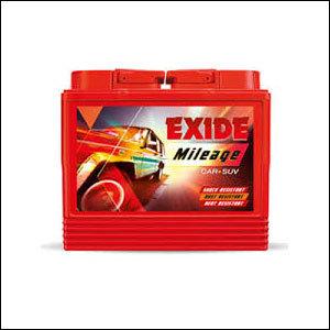 Branded Wheeled Exide Batteries