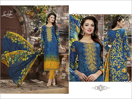 Cotton Salwar Suits Material
