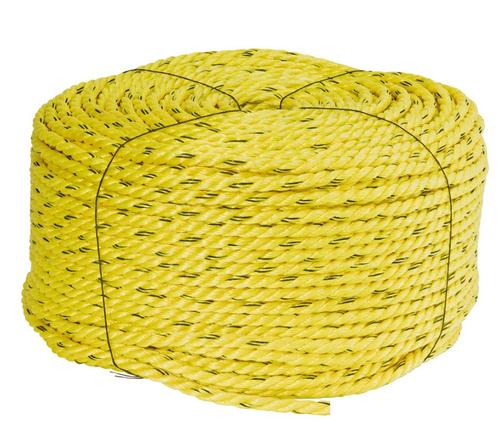 3-Strand Twisted Polypropylene Rope