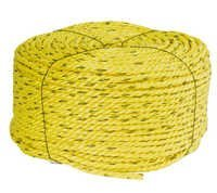 3 Strand Twisted Polypropylene Rope