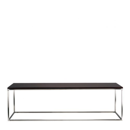 Metal Black Wooden Table