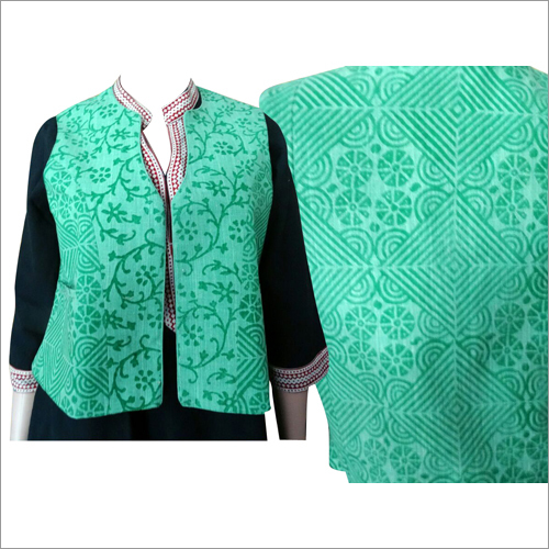 Printed Ladies Khadi Jackets