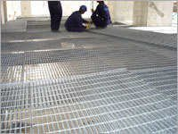 Metal Grating Installation