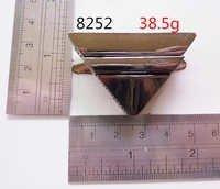 Triangle Lock White Nickel Polished