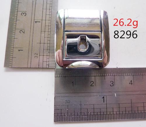 Custom Made Metal Lock Polished White Nickel