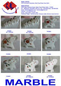 Marble Handicraft Figures