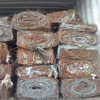 Steel Wire Bales In Containers