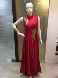 Embroidered Ghera Salwar Suits