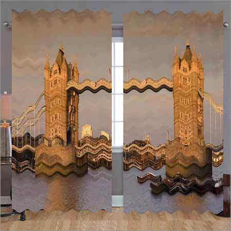 Custom Printed Curtain