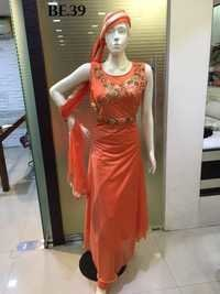 Long Straight Cut Salwar Suits
