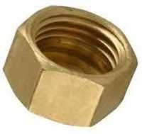 Brass Hex Dead BSP Nut