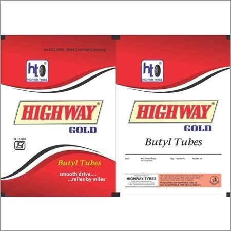 Two Wheelar Auto Tube Printed Laminated Pouches