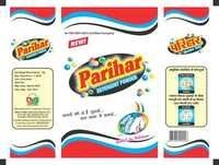 Packaging for Detergent Powder