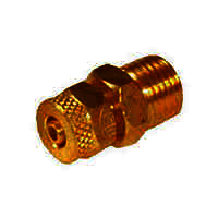 Brass PU Connector Assembly Male