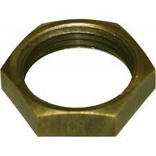 Brass BSP Check Nut