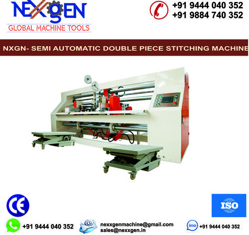 Semi-Auto Double Jointed Stitching Machine