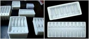 Plastic Ampoules and Vial Tray