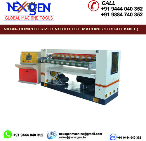 NC Cut-off Machine (Straight knife)