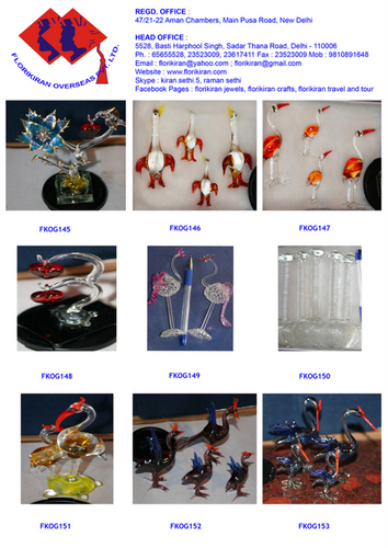 Handmade Craft With Glass