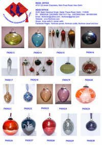 Handmade Craft With Glass