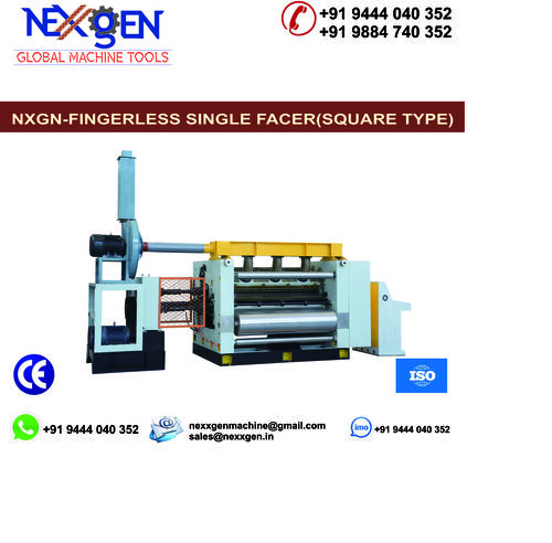 VACUUM  FINGERLESS SINGLE FACER CORRUGATION MACHINE(SQUARE TYPE)
