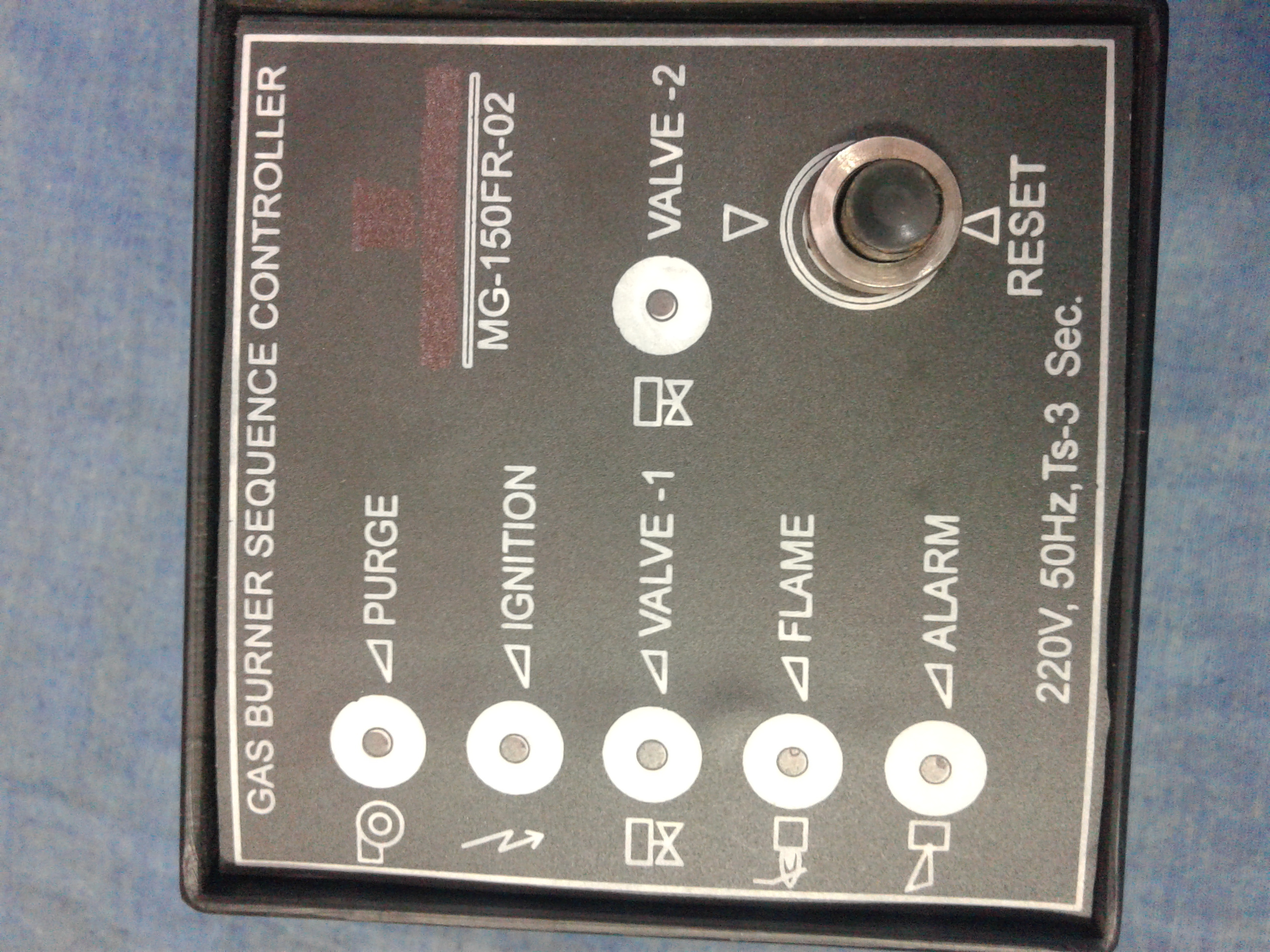 Industrial Burner Sequence Controller