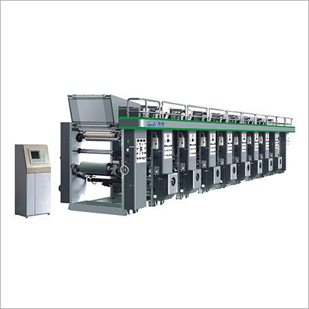 Computer Middle Rail Combined Gravure Printing Machine