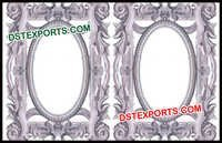Silver White Fiber Stage Panels