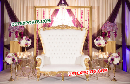 Gorgeous Wedding High Back Stage Furnitures